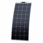 180W Reinforced semi-flexible solar panel with a durable ETFE coating (German solar cells)