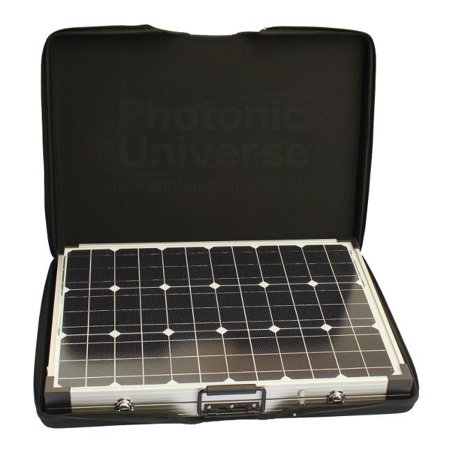 100 Watt 12v Folding Solar Charger For Motorhome Caravan