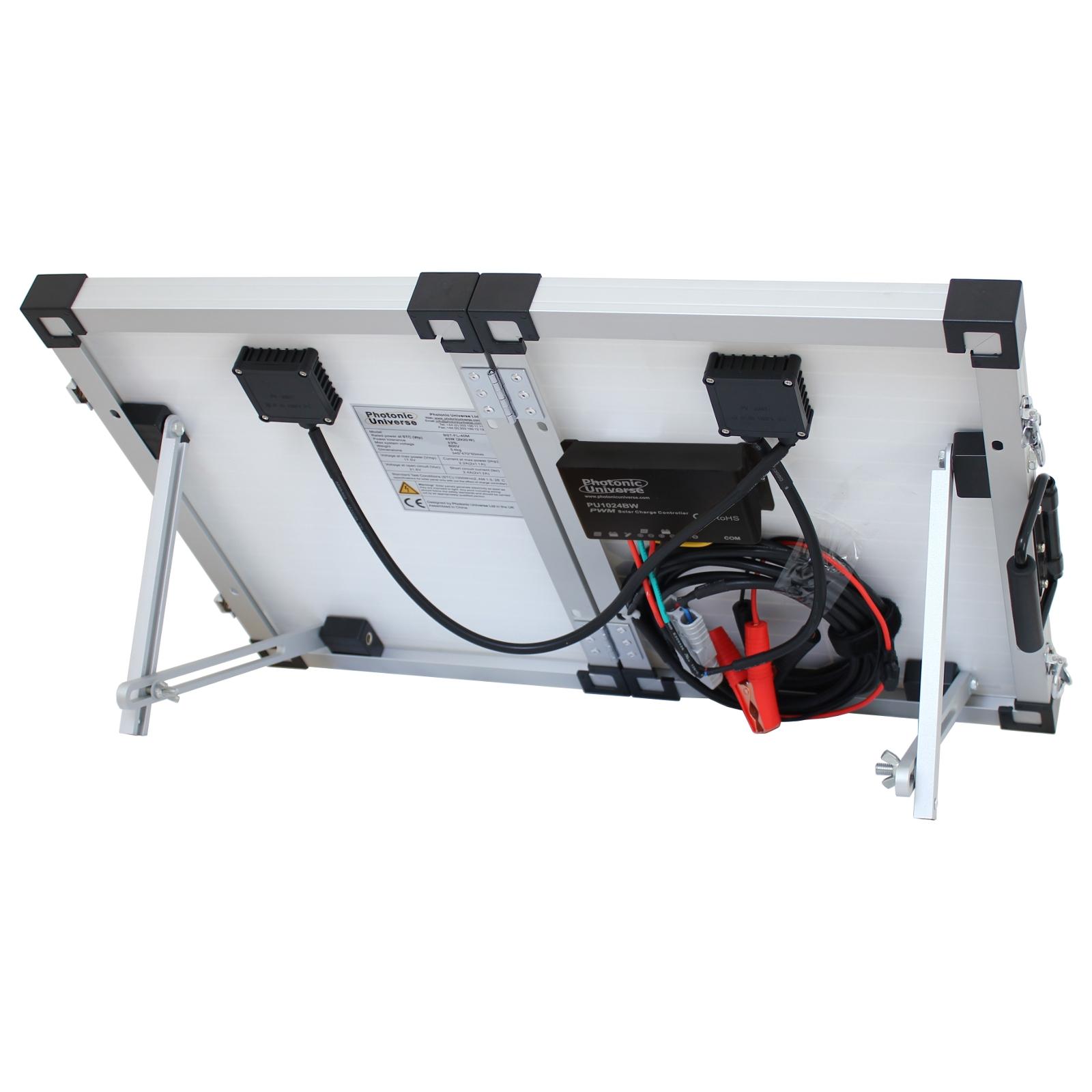 40w 12v Faltbar Sonnenkollektor Aufladen Kit F 252 R Caravan