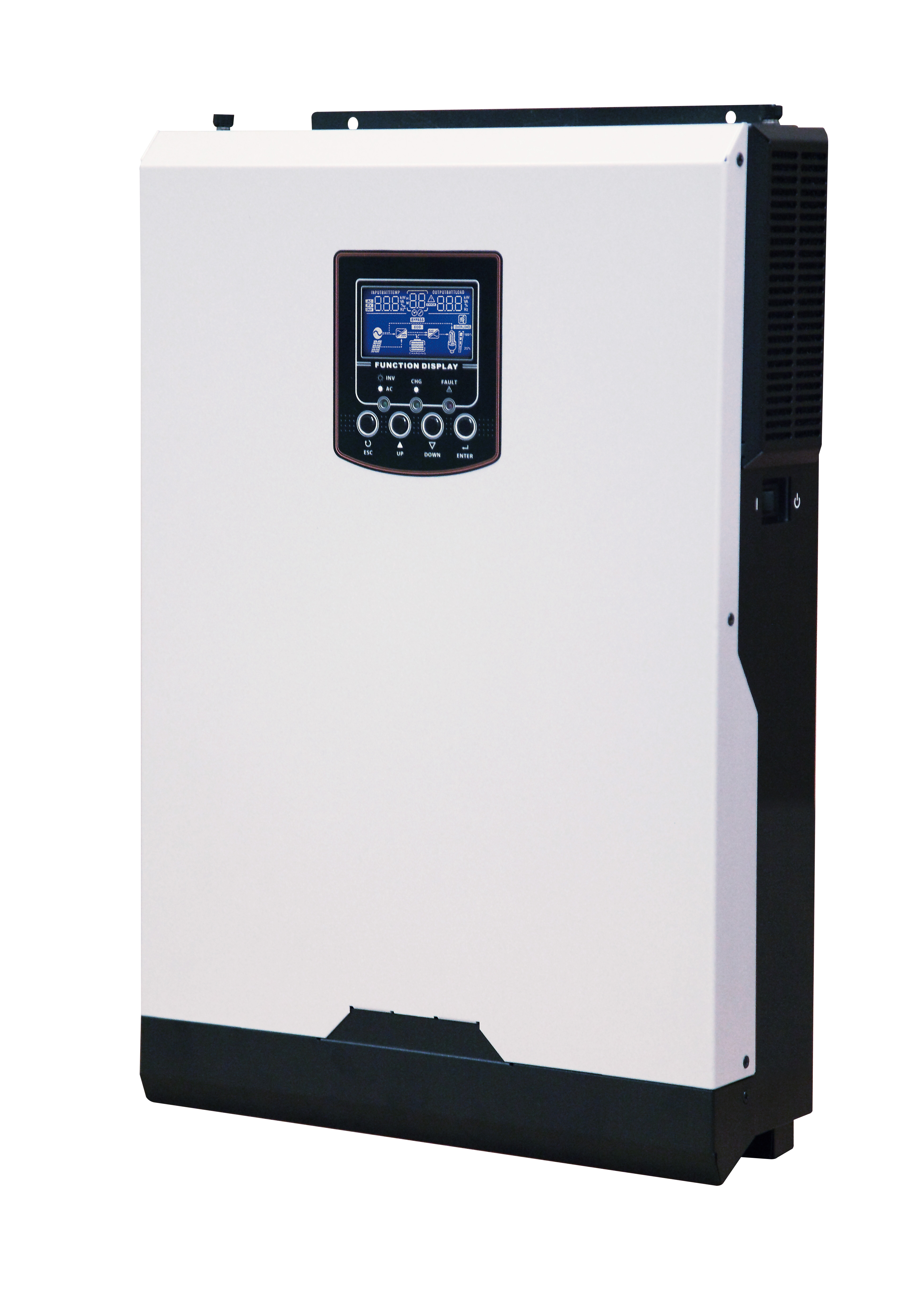 5kw 48v Iconica Hybrid Inverter 500v Mppt Solar 80a Charger No Battery Circuit Besides Charge Controller The 5000w Intelligently Combines Functions Of A Pure Sine Wave And 60a