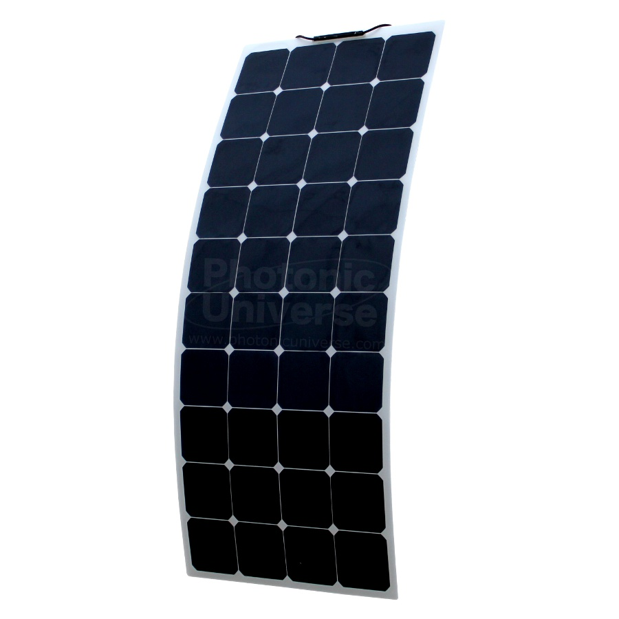 130w Flexible Solar Panel Made Of Back Contact Cells With