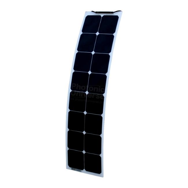 50w Flexible Narrow Solar Panel For Motorhome Camper Van